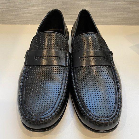 BOSTONIAN NIB Black 13M Studio Dival Loafers